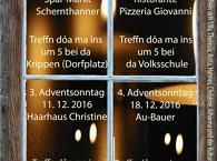 Adventsfenster schaun