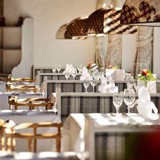 Haubengekröntes Restaurant im Hotel DER BÄR
