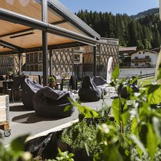 Tirol Bar & Grill an der Talstation der Hartkaiserbahn