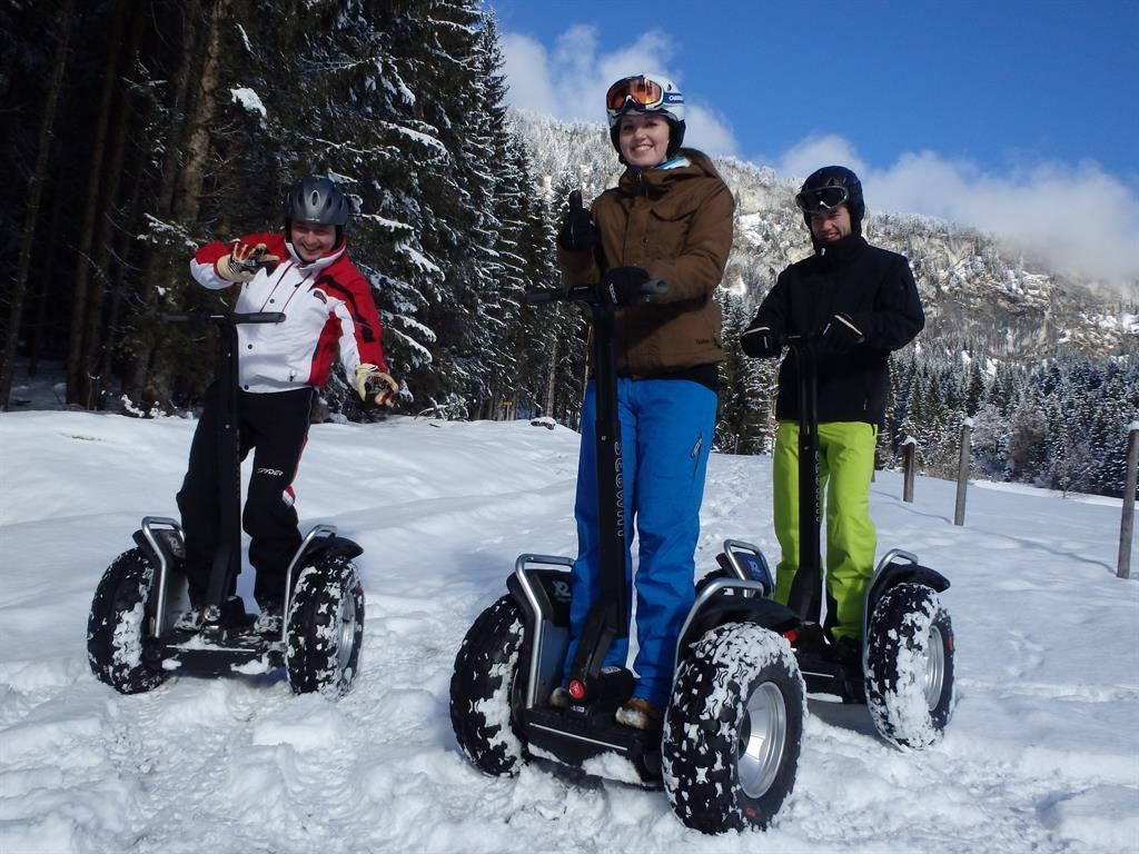 Winter- Segway