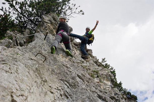 Klettersteig Wilder Kaiser : Bergsportwoche 2019 klettersteig