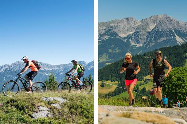 Trailrunning & E-Bike Tour