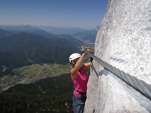 Klettersteig Wilder Kaiser : Bergsportwoche in scheffau am wilden kaiser