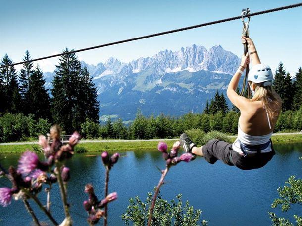 Klettergurt Tree Austria : Hornpark tree tops adventure
