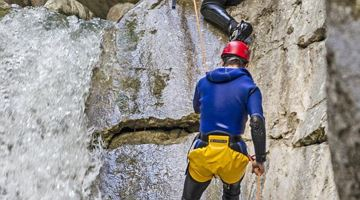 Canyoning for children