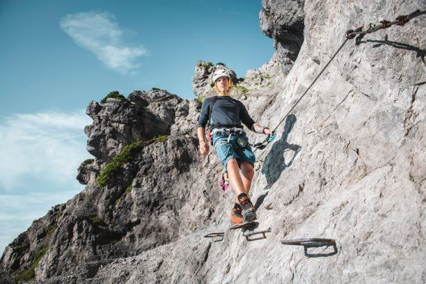 Guided Via Ferrata Tour  thru the Jubiläumssteig trail