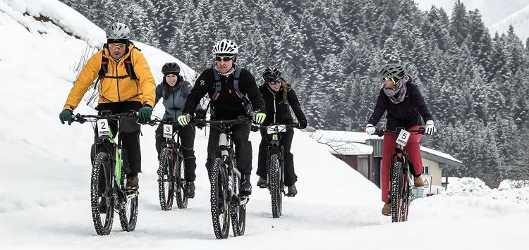 Winter E-Bike Tour durch das Söllandl