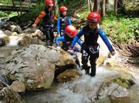 Canyoning für Kinder Di, 27.8.