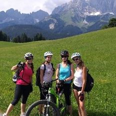 E-Bike Tour at the foot of the Wilder Kaiser to Gasteig