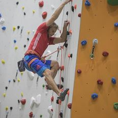 First indoor climbing experiences