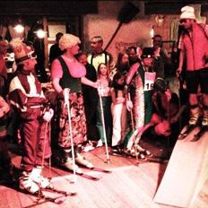 Ski Teacher's Party in the Ellmauer Alm