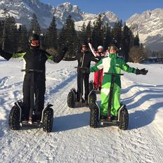 Winter Segway Filmtour