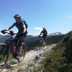 E-Mountainbike Tour / At the Wilder Kaiser