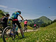 E-Bike tour through the Kitzbüheler Alps