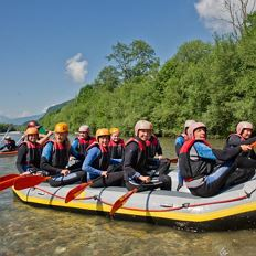 River Rafting for the whole family