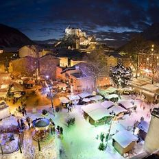 Christmas Market in the City Park Kufstein