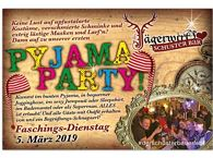 1. Schuster Bar PyJaMaPaRtY