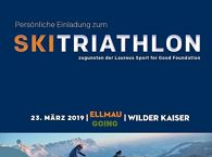 Ski Triathlon zugunsten der Laureus Sport for Good Foundation