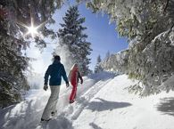 Snow shoe-hiking - Winter walking
