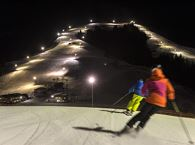 Night Skiing and Tobogganing