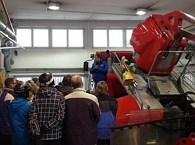 Piste machines backstage tour