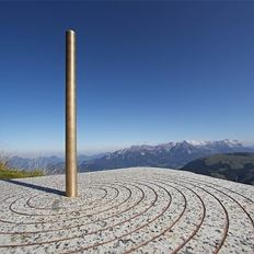 Sundial guidance Hohe Salve