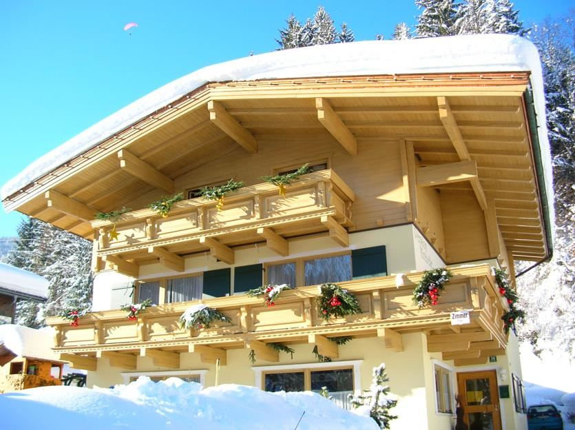 Pension Mirabelle im Winter