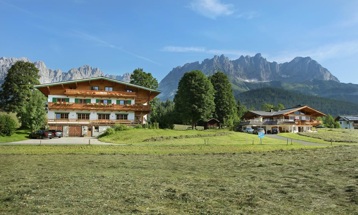 Apartment Jägerhof & Landhaus Going Wilder Kaiser
