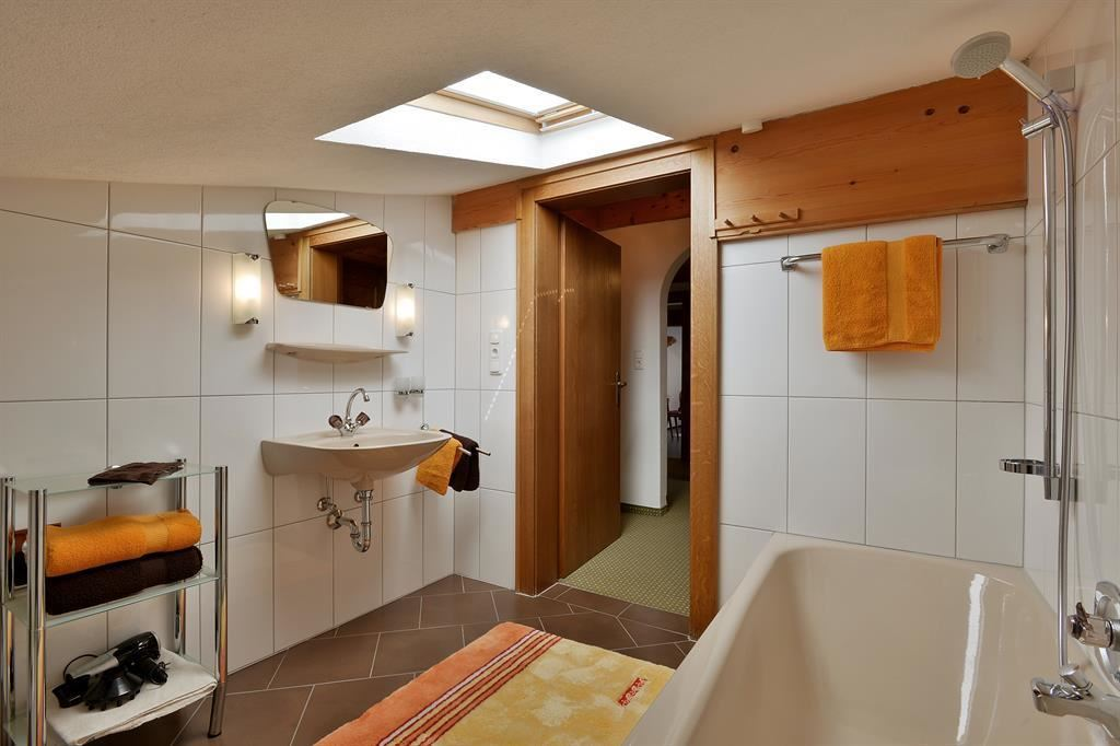 Appartement Panoramablick Badezimmer
