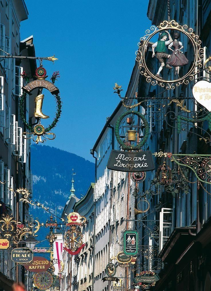 Visit Salzburg, city of Mozart and Sound of Music