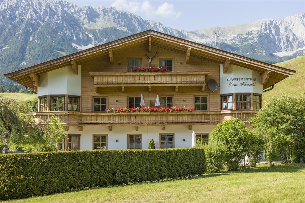 Appartementhaus Zum Schneider Scheffau Am Wilden Kaiser