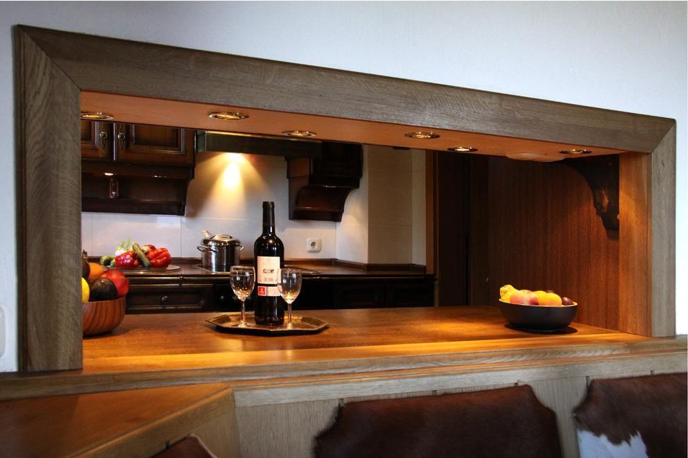 Emejing Küche Mit Durchreiche Contemporary - Erstaunliche ...
