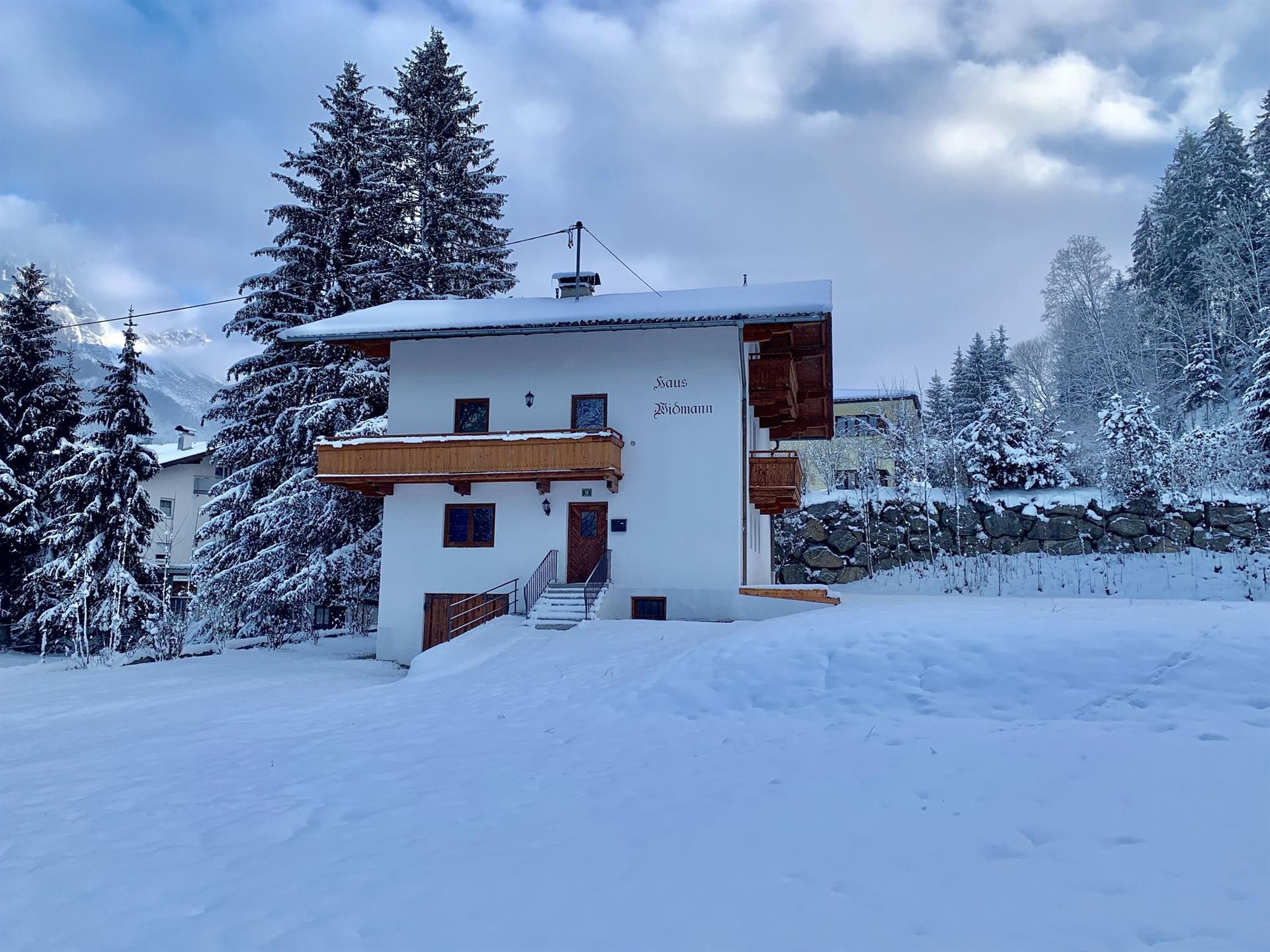 Haus Widmann Winter 4