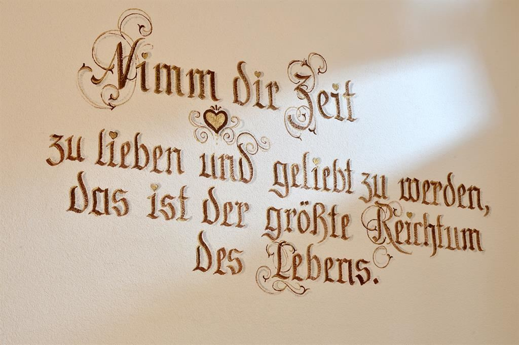 Appartement Wilder Kaiser Spruch