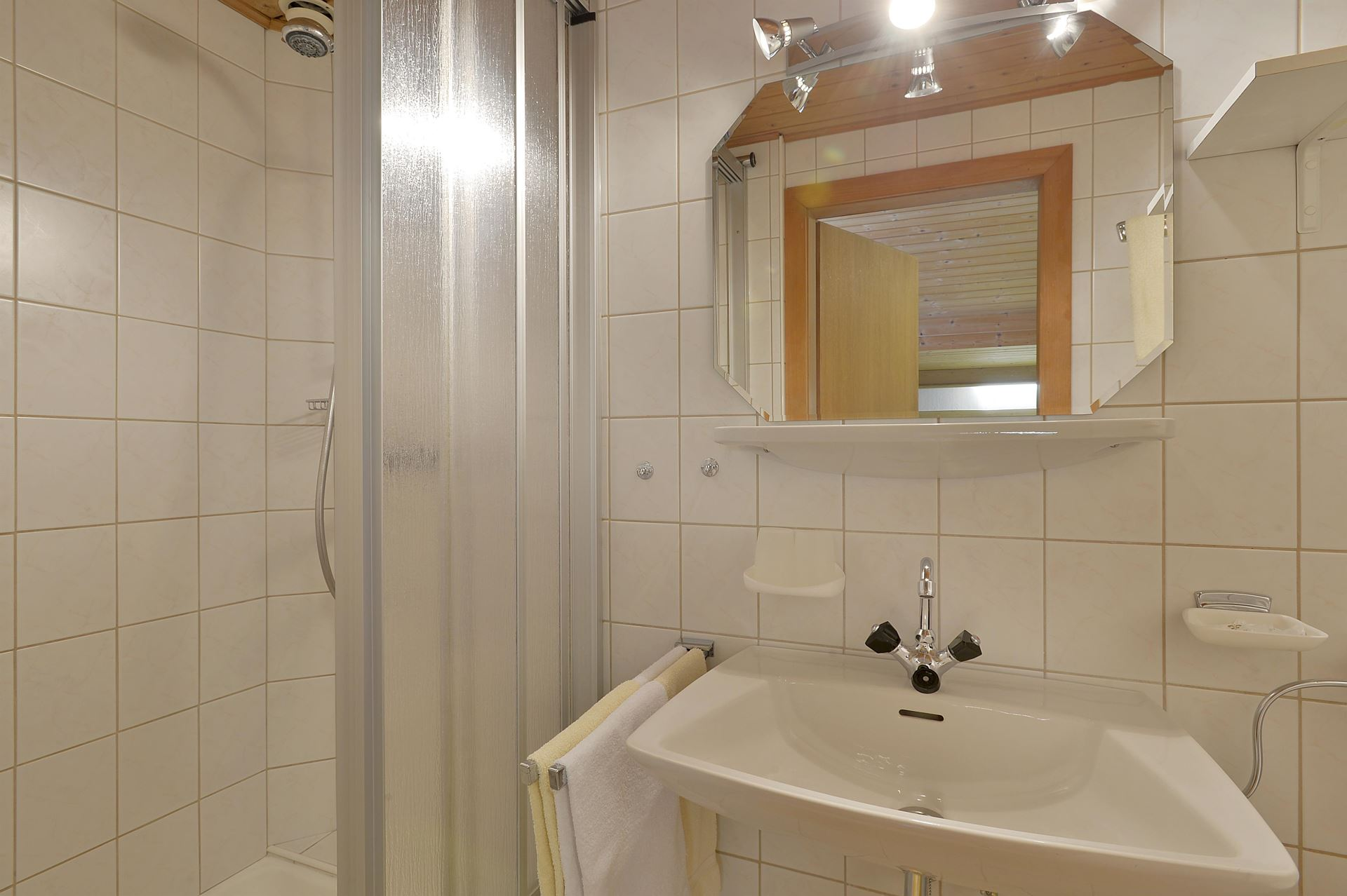 Appartement Hohe Salve Badezimmer