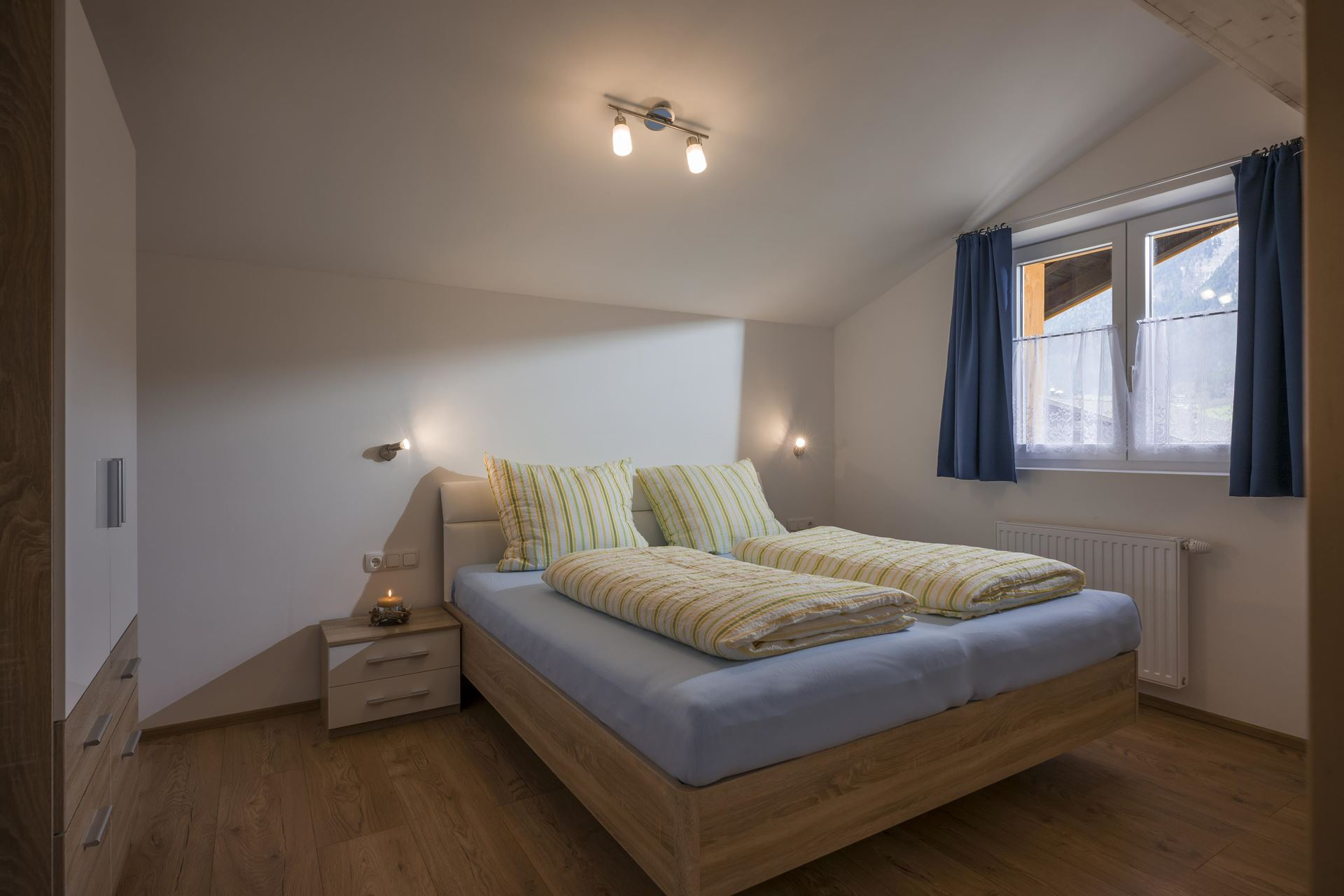 Schlafzimmer Appartement Salvenblick