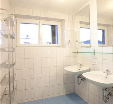 Appartment-Badezimmer