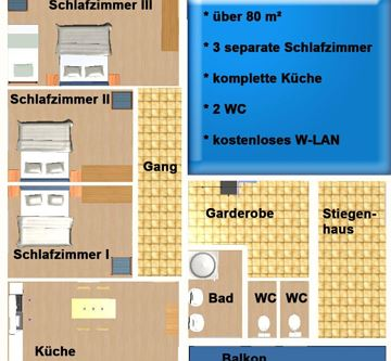 Grundriss Apartment