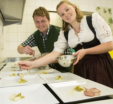 Junior Chefin und Junior Chef