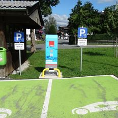 Charging station (electric vehicle) - Ellmau parking area 'Mitte'