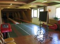 Bowling alley and Tenniscourt