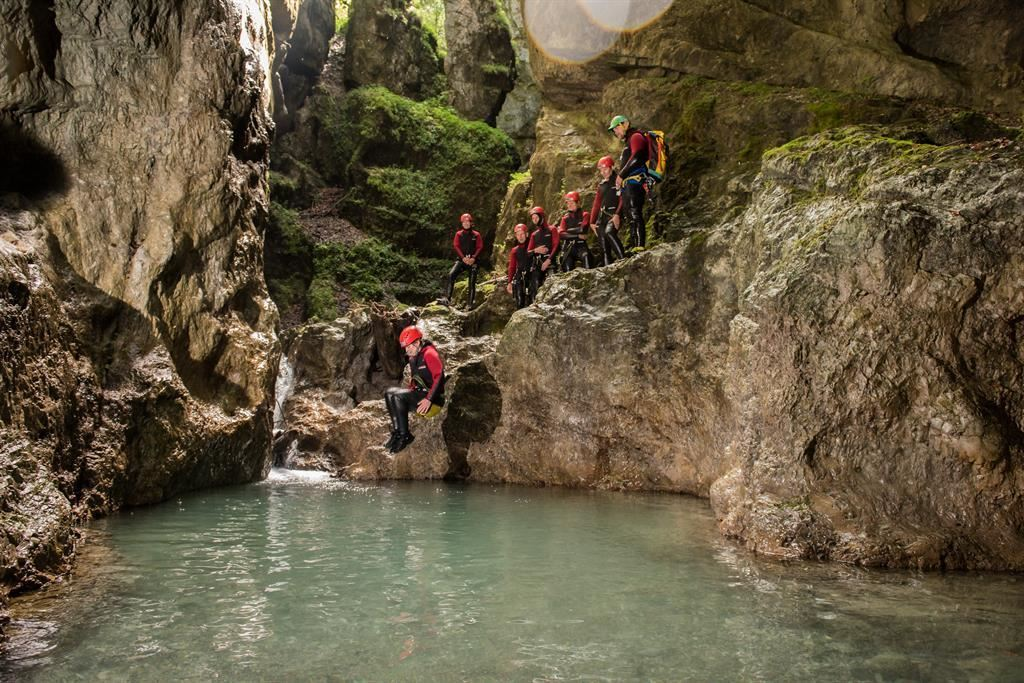 Canyoning BSW