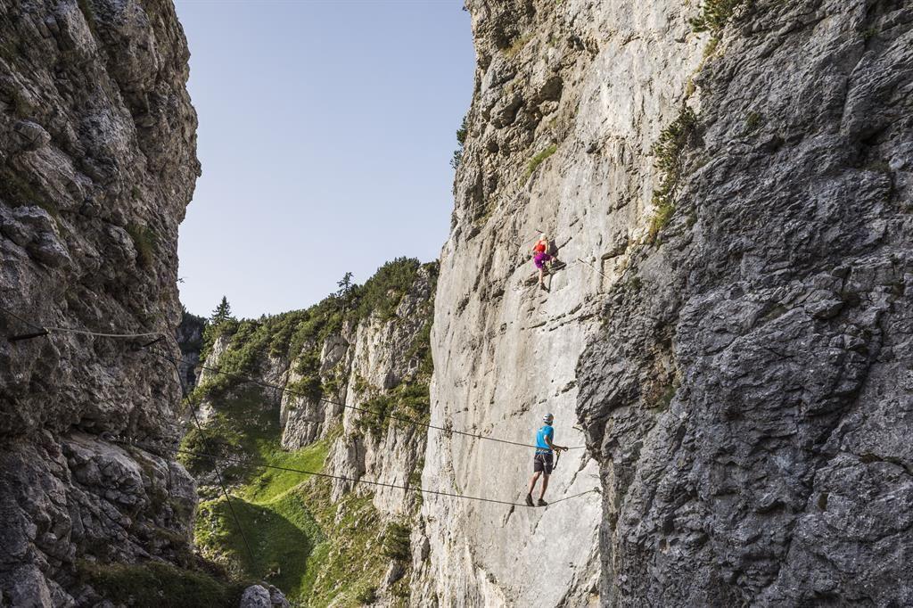 Klettersteig Rucksack : Bergsportwoche 2019 klettersteig