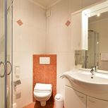 Junior suite, shower, toilet