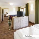 Suite, shower or bath, toilet