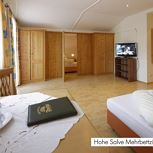 Hotel-room with 4 beds-shower or bath tube, WC