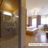 Hotel-double room with shower, WC