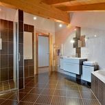 Apartment, shower and bath, toilet, sauna