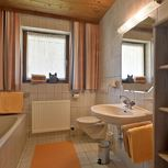 ap./2 bedrooms/shower and bath tube, WC