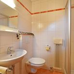 triple room with shower or bath, WC